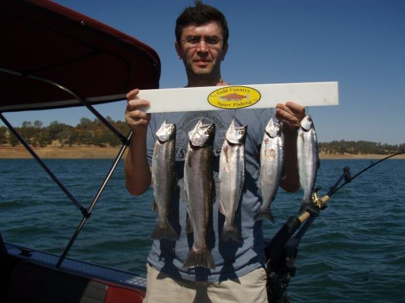 Don Pedro kokanee fishing photos