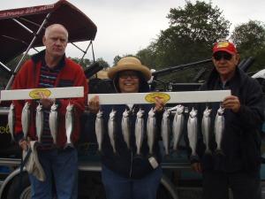 New Melones kokanee fishing guides