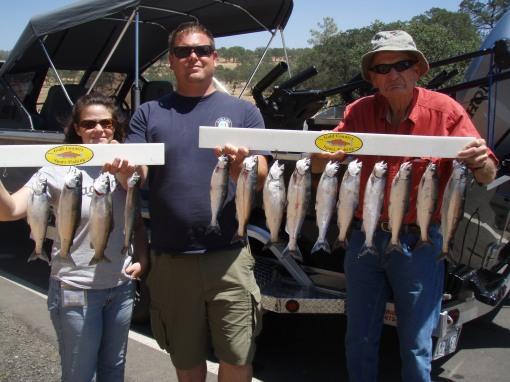 Don Pedro kokanee fishing