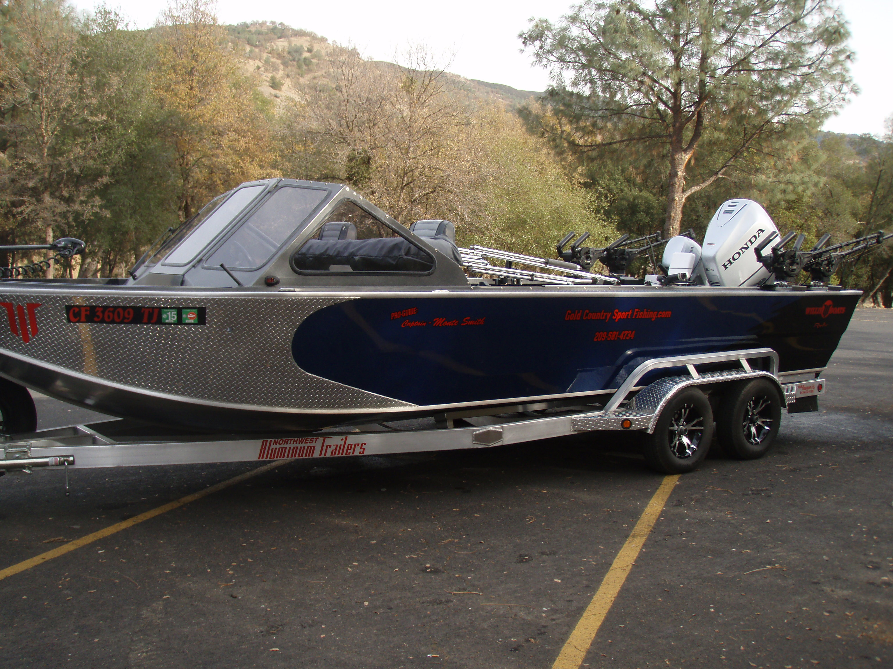 Willie Boats For Sale >> The 24 Foot Willie Boat Gold Country Sport Fishing